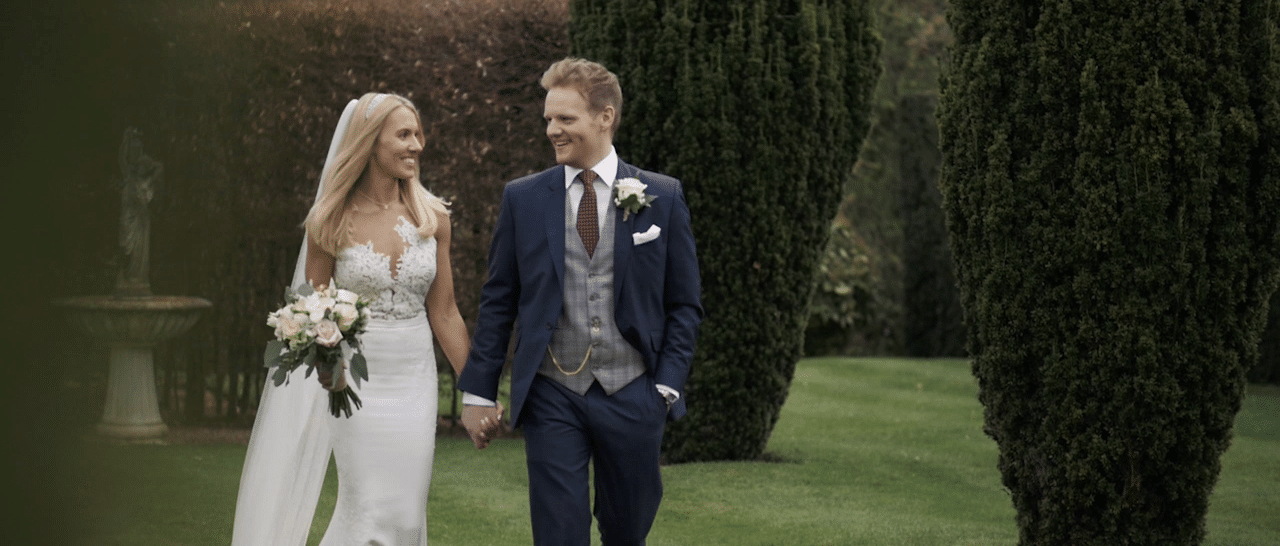 Holford Estate wedding video: Cheshire wedding videographer