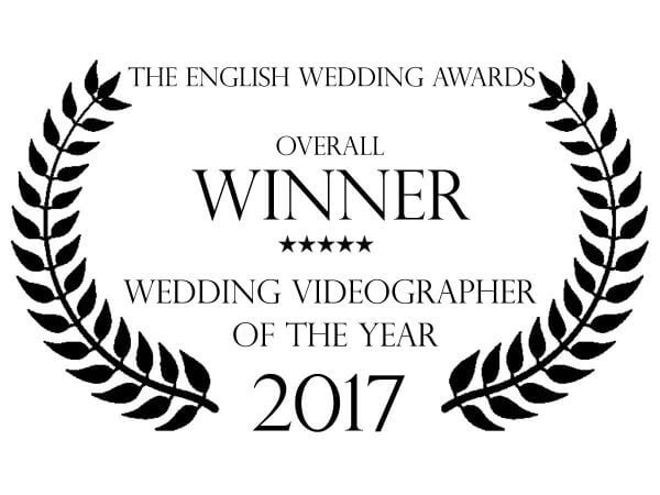 The English Wedding Awards Wedding Videographer Of The Year 2017 Logo