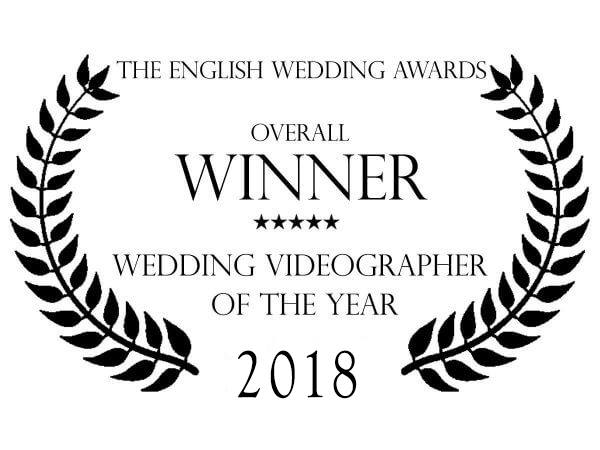 Award winning wedding videographer